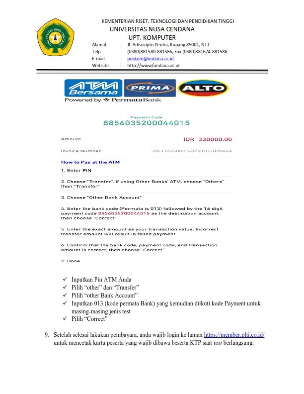 Tata cara Pendaftaran 05